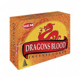 India and Asia Dragons Blood Incense Cones by HEM