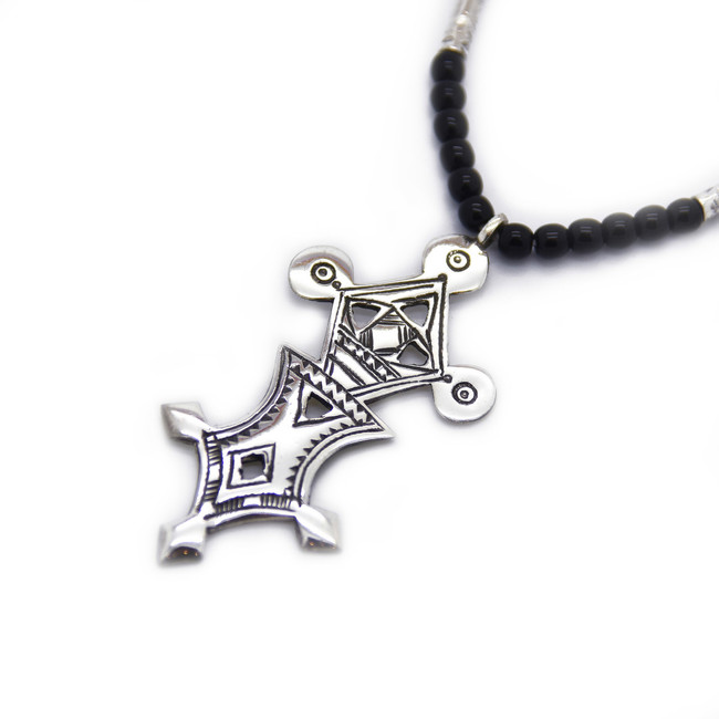Madaqua Cross Necklace Close Up