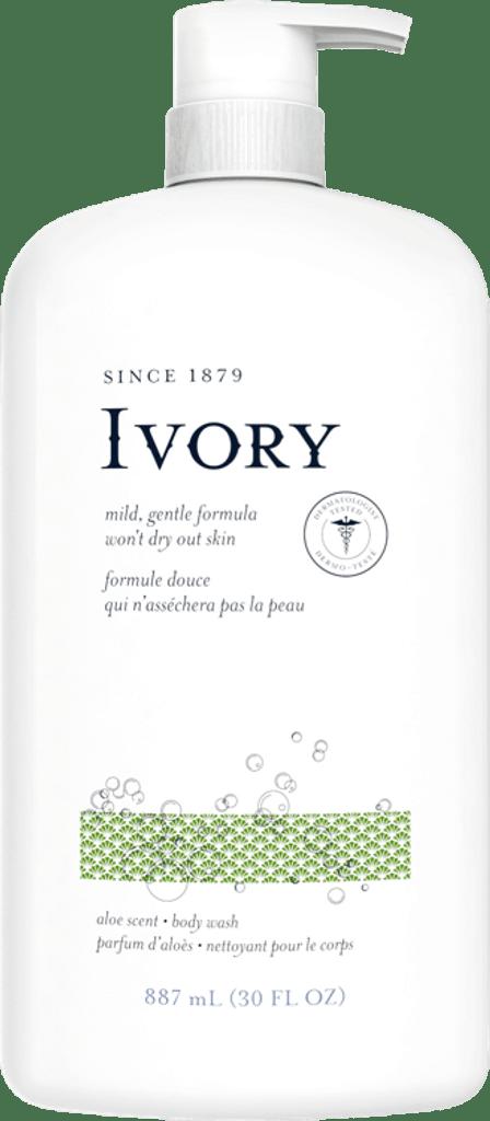 Ivory Body Wash, Aloe