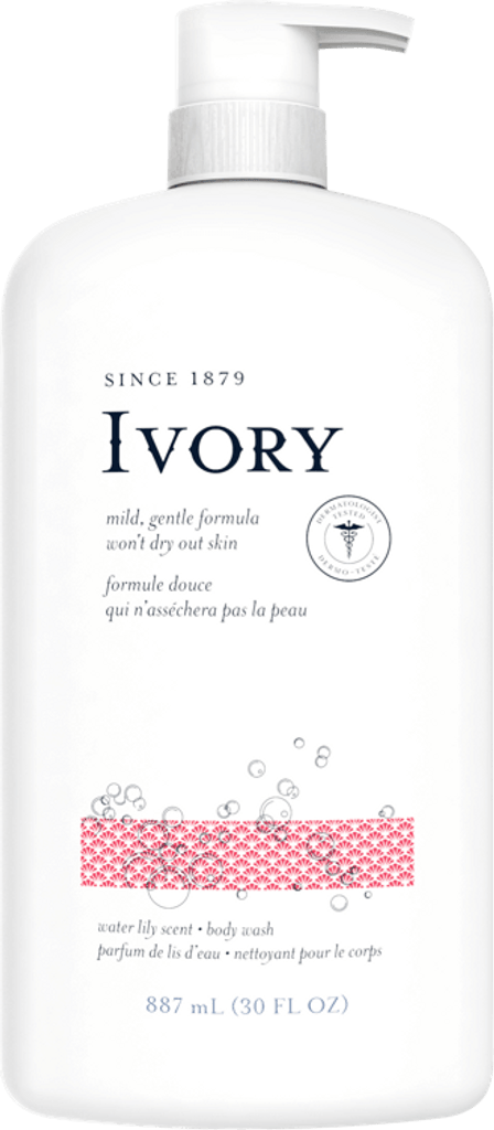 Ivory Body Wash, Water Lily