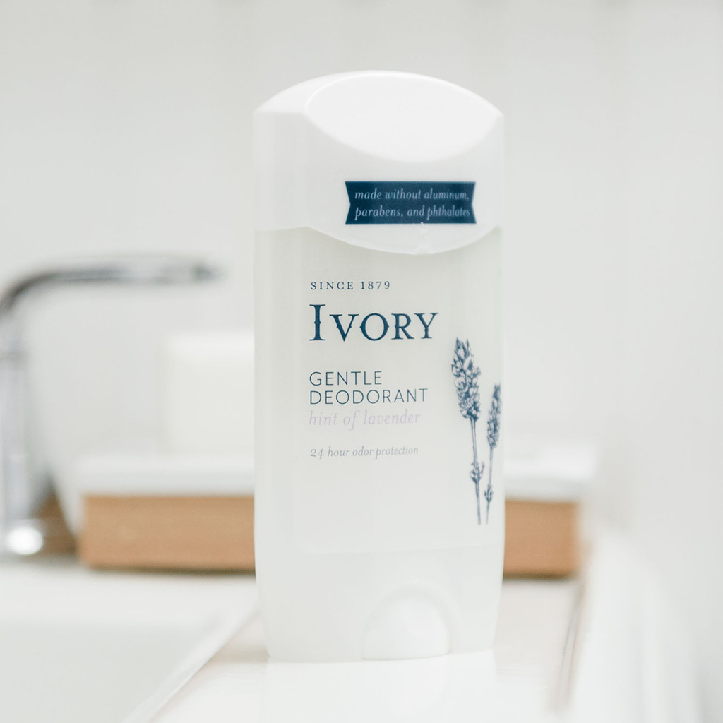 Ivory Gentle Deodorant, Hint of Lavender Scent