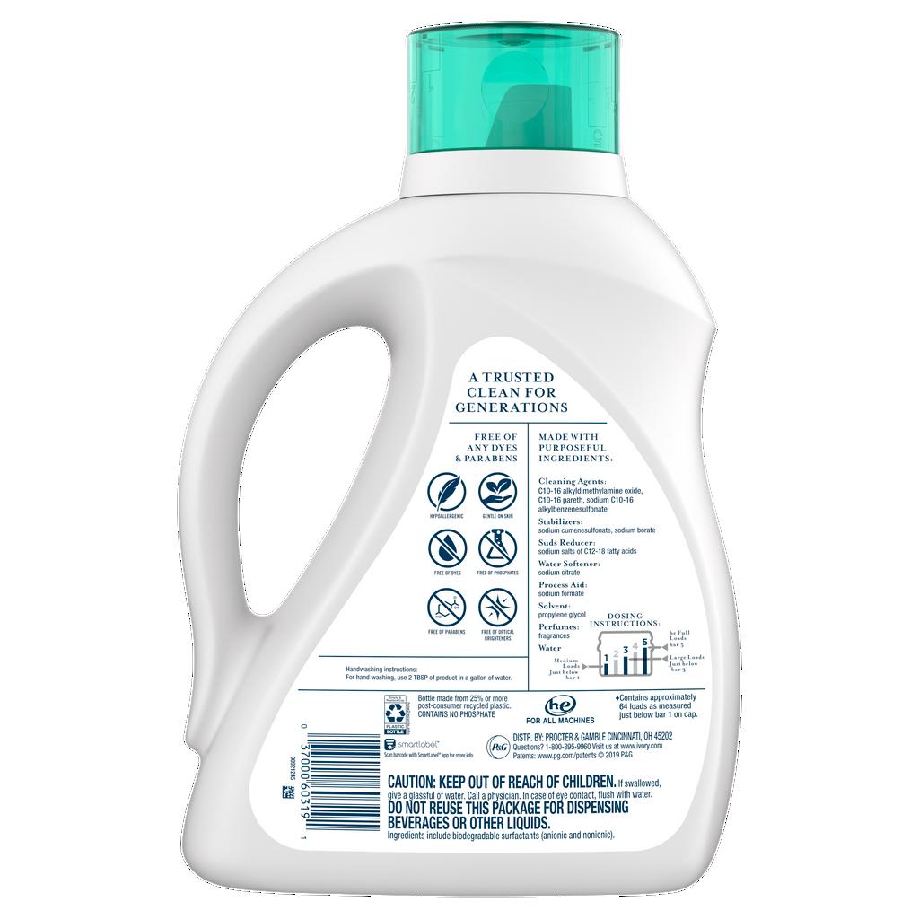 Ivory Gentle Aloe Laundry Detergent
