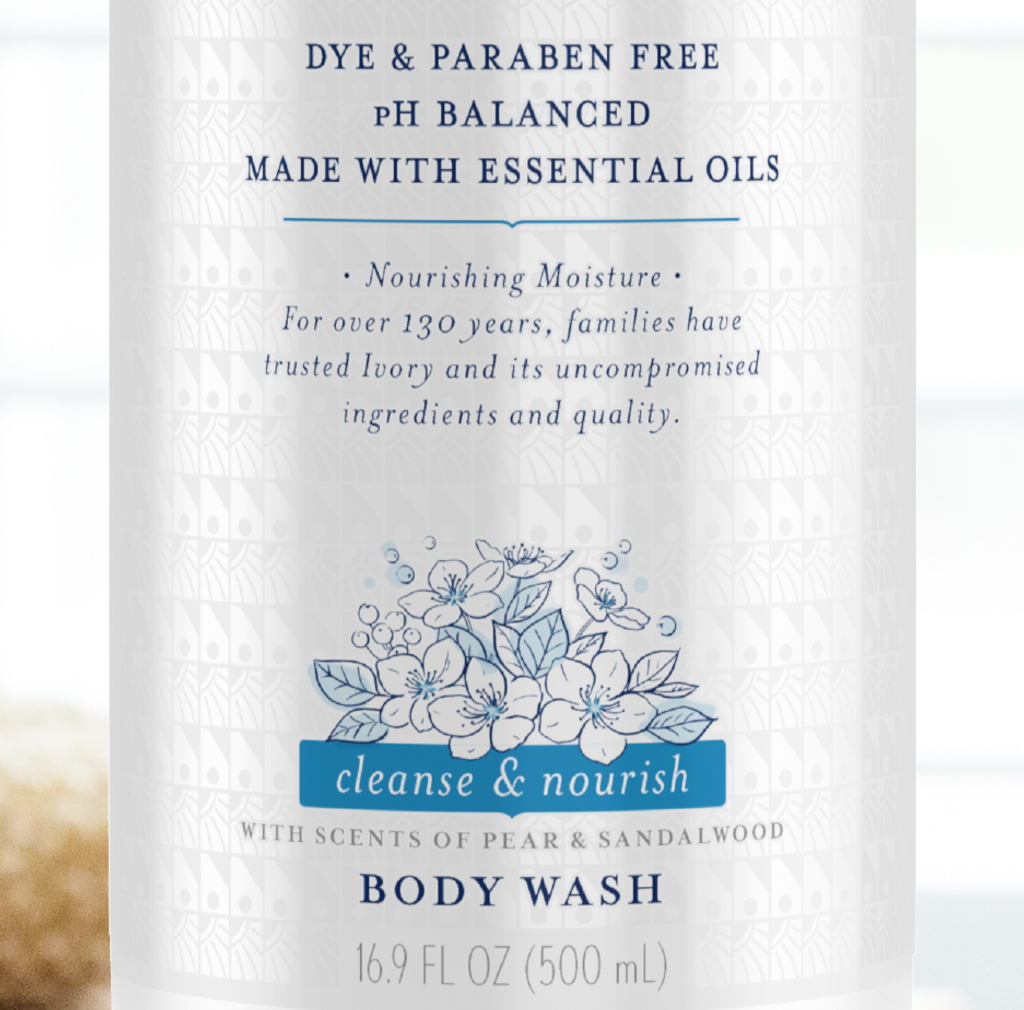 Pear & Sandalwood Body Wash