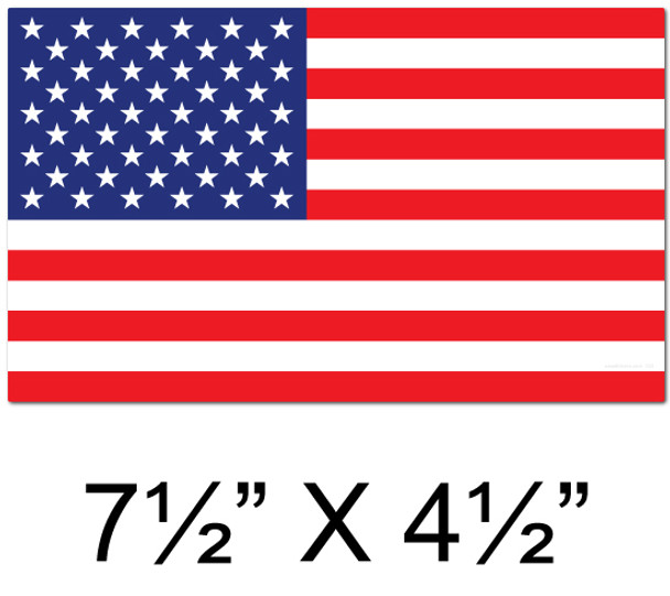 Usa Stickers American Flag 12