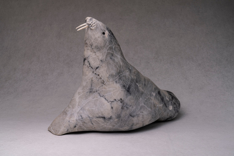 Carving Walrus Marble