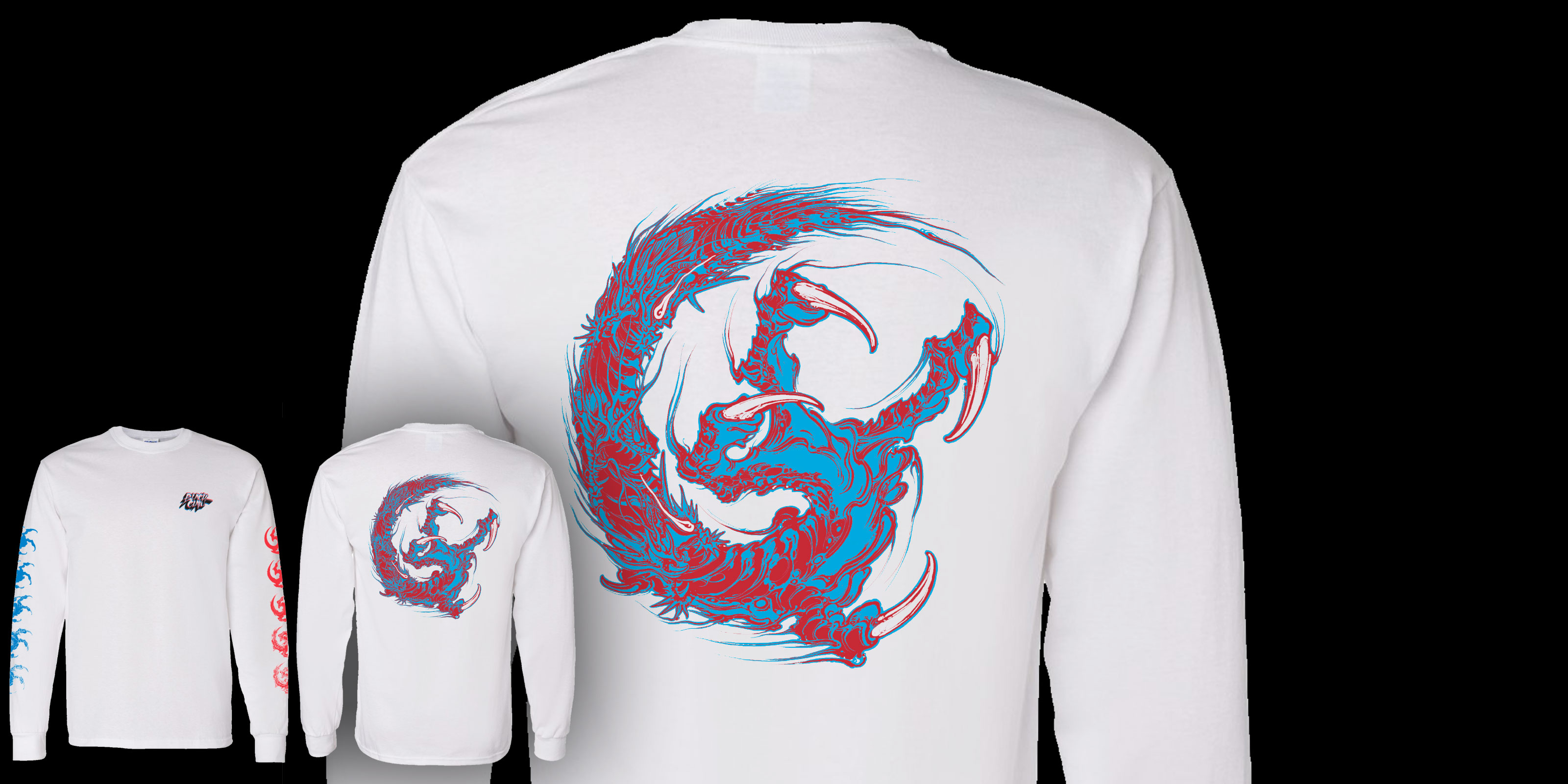 3 Head Claw 2.0 Long Sleeve Shirt