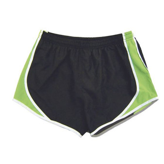 Team Shorts - Black and Lime