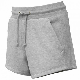 Fleece Short With Pockets - Grey