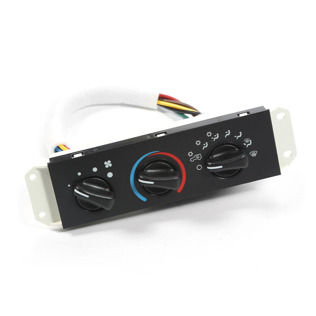 Heater Control Blower Motor Switch Heat Jeep Wrangler Tj 1999 To 2004 17903.04