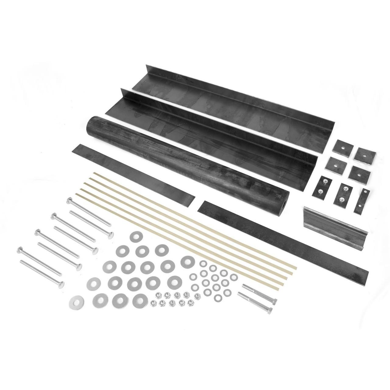 Stainless Body Fastener Kit Fits 55-75 CJ5 CJ6 Omix-Ada 12215.02