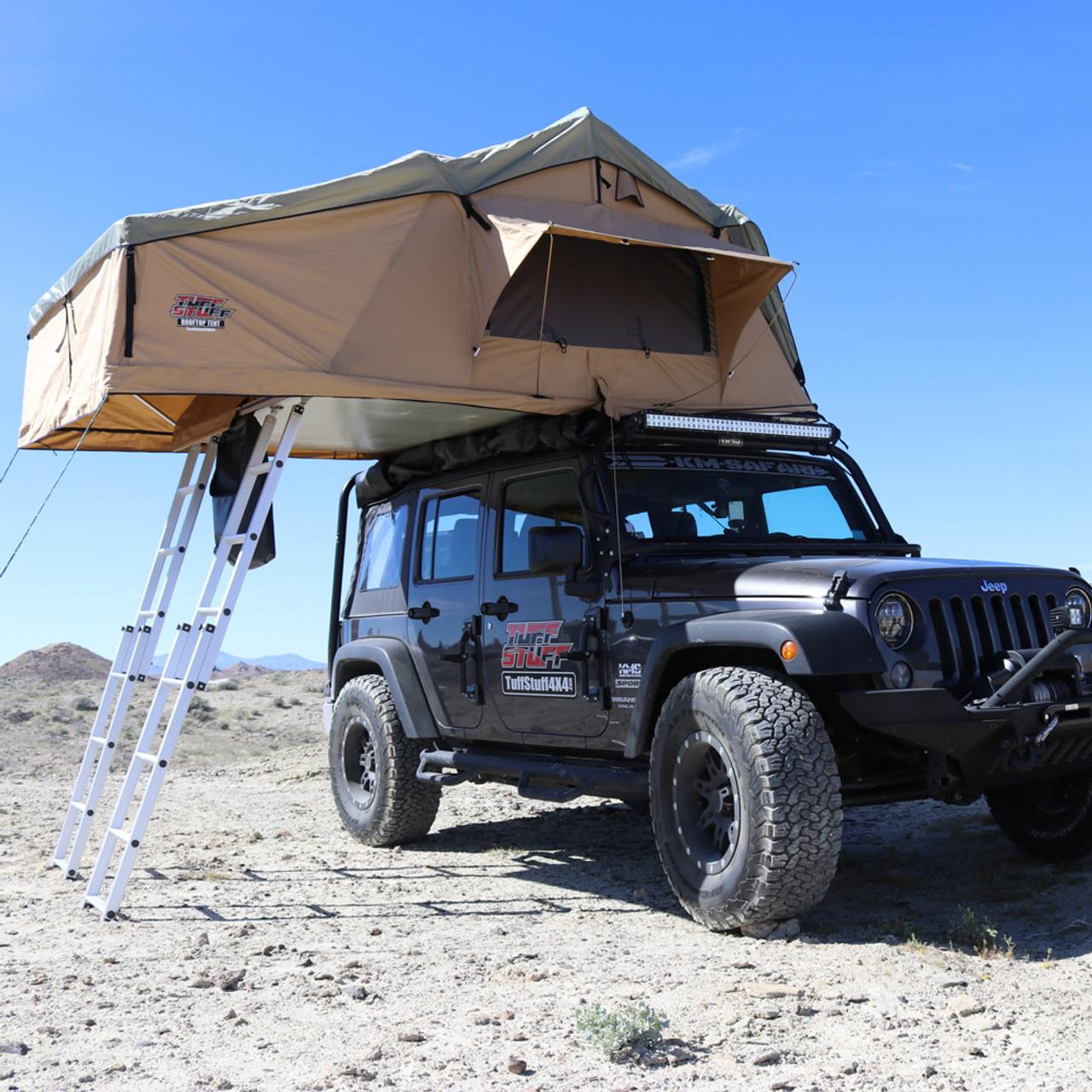 Rooftop Tent Annex Room 5 Person Elite Overland Tuff Stuff Overland Jeephut Offroad