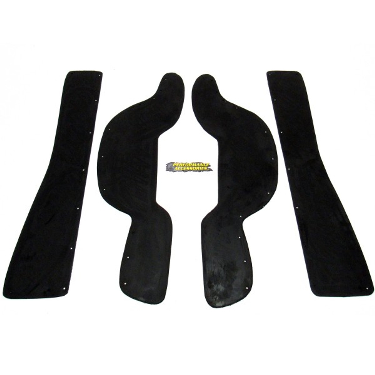 PA6622 Made in America 4WD Quad Cab Dodge Ram 1500 fits 2002 to 2002 Gap Guards for 3 body lift Performance Accessories