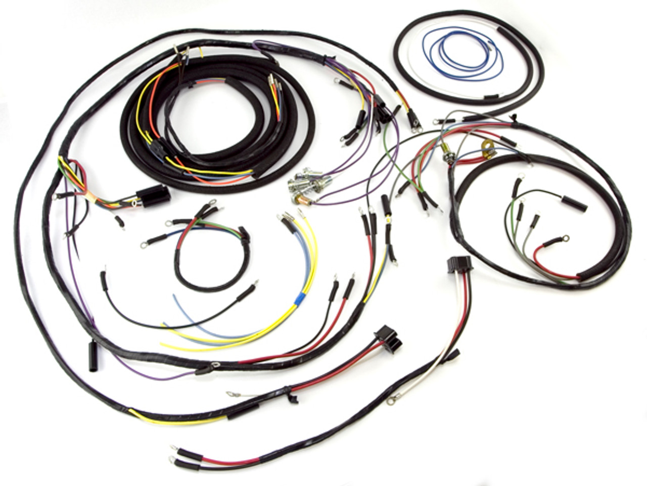 Omix-Ada, 17201.08 - Wiring Harness, 57-64 Willys CJ3B - Available at the  JeepHut   Cj3b Wiring Harness      JeepHut