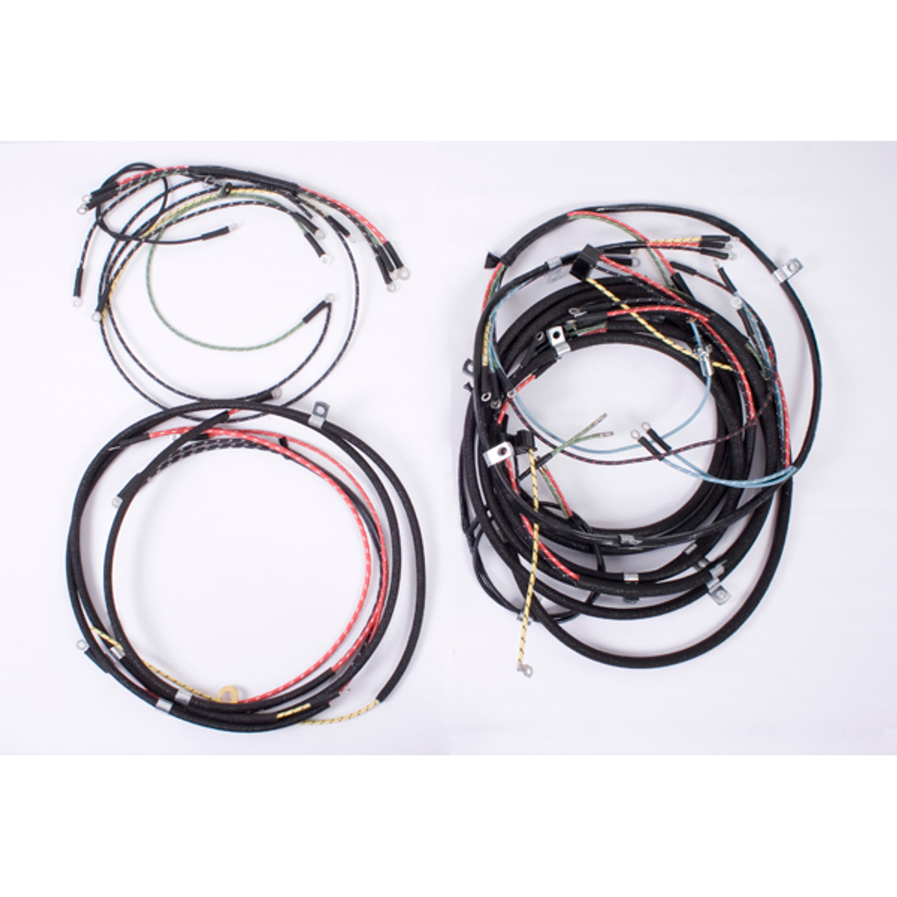 omix-ada, 17201.03 - wiring harness, 46-49 willys cj2a - available at the  jeephut  jeephut