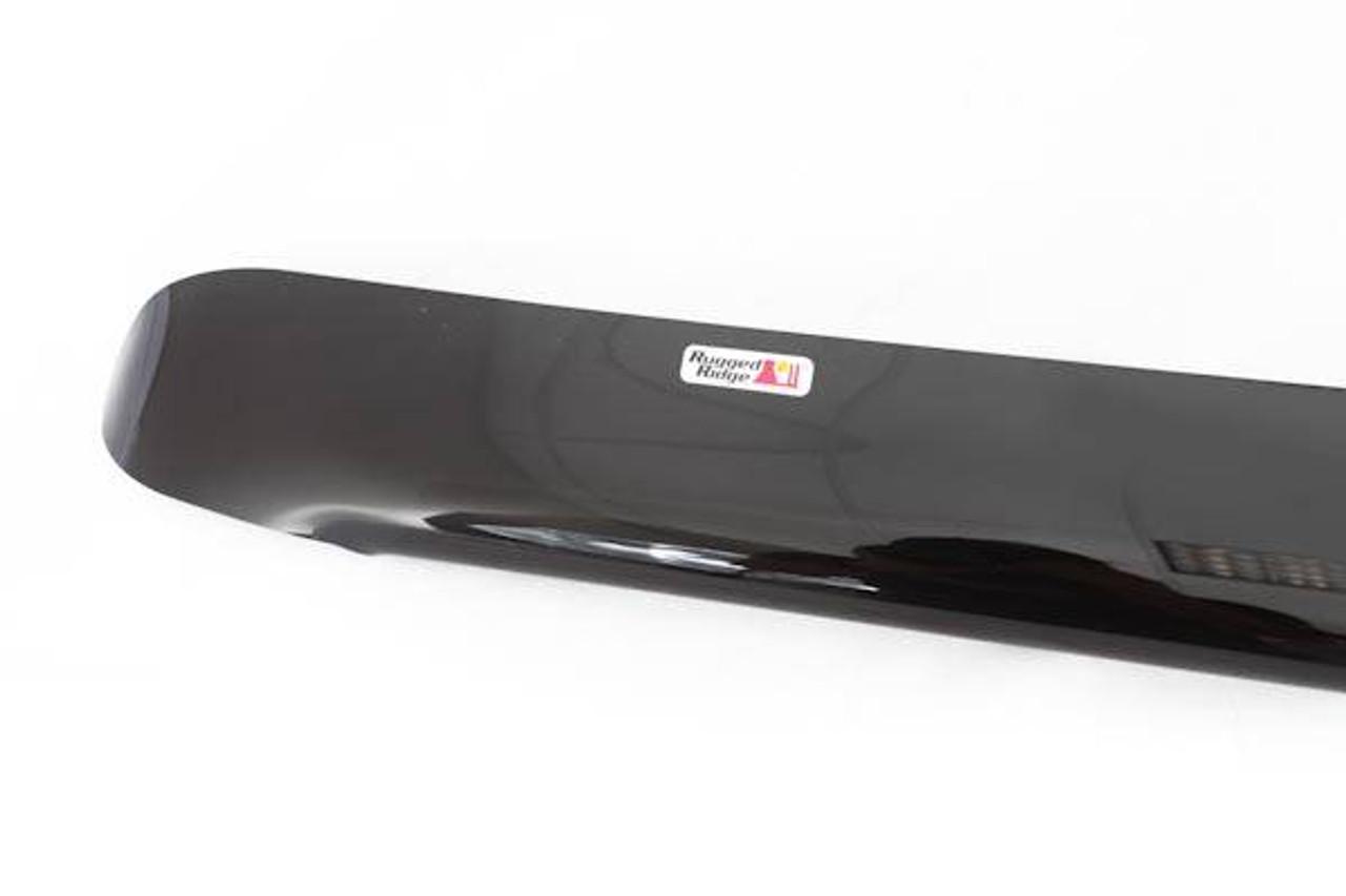 TuningPros WD-222 Tinted Smoke Out-Channel Window Visor Deflector Rain Guard 4-pc Set