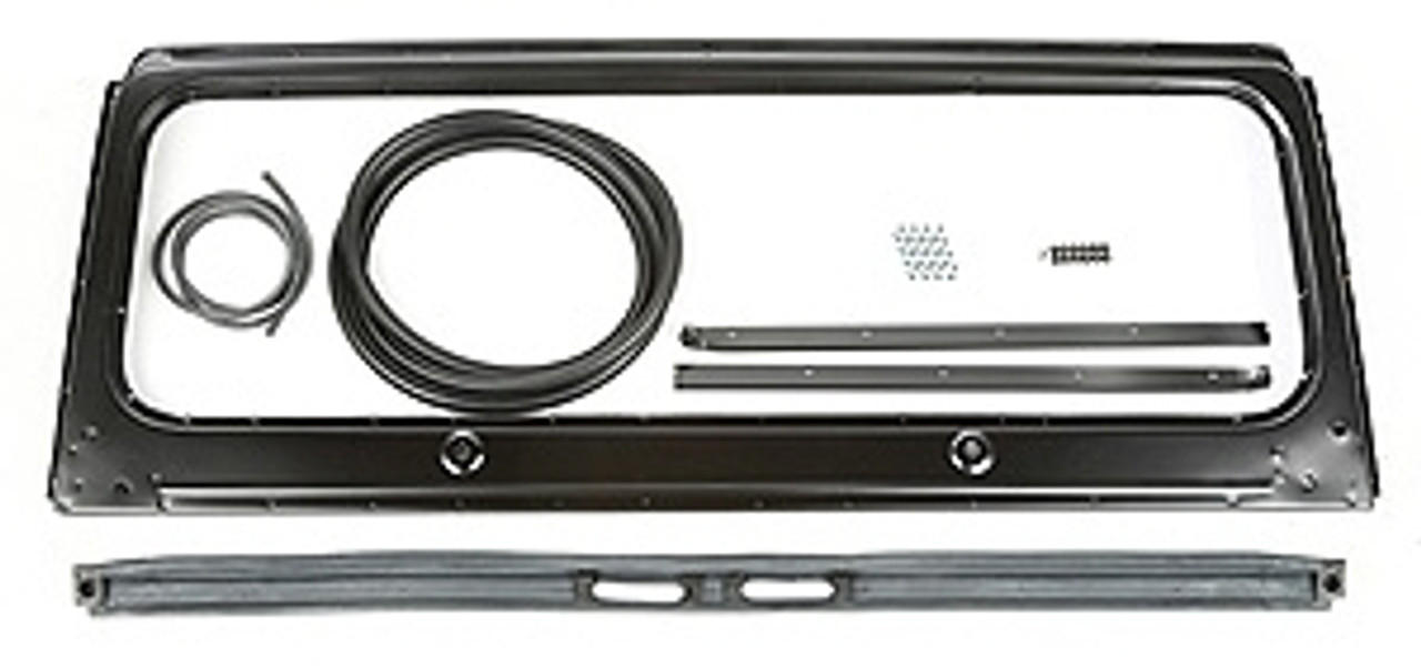 Windshield Frame and Parts