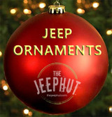 Jeep Holiday Ornaments