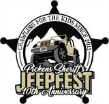 Pickens Sheriff's Jeepfest 10th Anniversary!