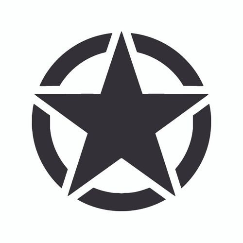 Decal, DEC-STAR - Star Emblem Decal