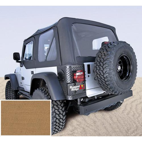 Rugged Ridge, 13725.37 - XHD Soft Top, Spice, Clear Windows, 97-06 Jeep Wrangler (TJ)