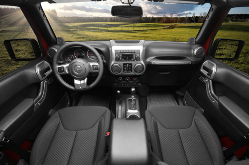 Interior Trim Accent Kit, Charcoal, Automatic; 11-18 Jeep Wrangler JKU