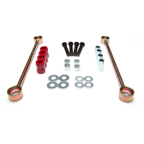 Rugged Ridge, 18320.21 - Rear Sway Bar End Links, 4 in Lift, 07-18 Jeep Wrangler