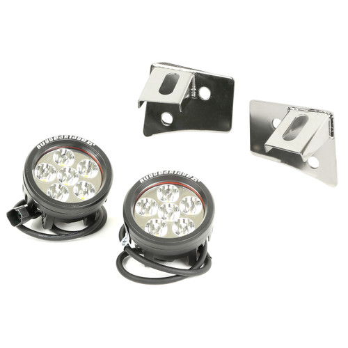 Rugged Ridge 11027.16 Windshield Bracket LED Kit