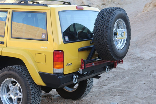 Rock Hard 4x4 Patriot Series Rear Bumper w/o Tire Carrier