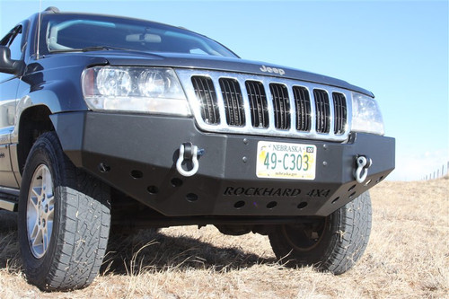 RH 7052__32659.1427723331?c=2 rock hard 4x4 bolt on front bumper winch plate with fairlead mount