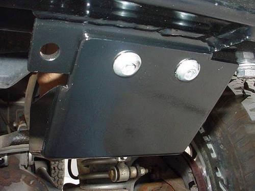 Rock Hard 4x4 Steering Box Skid Plate for Jeep Wrangler CJ 1976 - 1986
