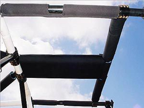 Rock Hard 4x4 Padding Kit for Overhead T-Section for Jeep Wrangler TJ and Unlimited LJ 1997 - 2006