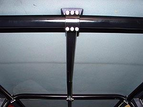 Rock Hard 4x4 Front Overhead Center Bar for Jeep Cherokee XJ 4DR 1984 - 1996