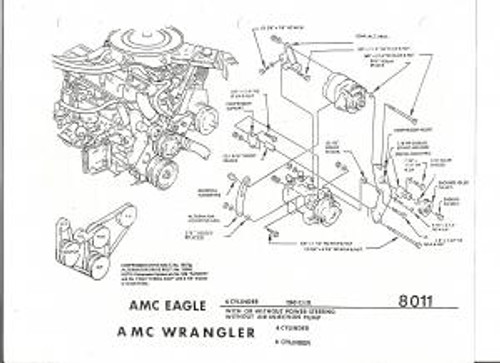 Amc 2 5 Engine Diagram