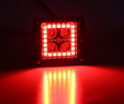 Offroad 515, Color Changing LED Cubes/Pods with Halo Pair
