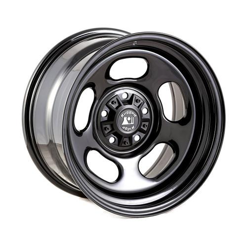 Rugged Ridge, 15500.78 - Steel Wheel, Trail Runner Classic, W/Center Cap, 17x9; 07-16 Wrangler