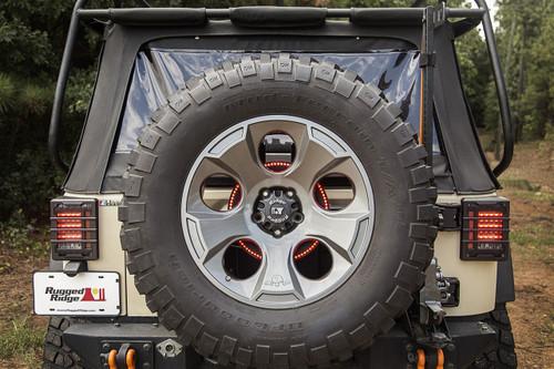 Jeep LED Third Brake Light Ring YJ, TJ, JK up to 2018