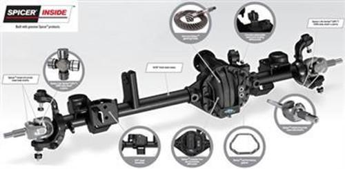 Ultimate Dana Spicer Dana 44 JK Front Axle Assembly 5.38 Ratio - 10010742