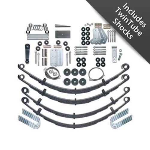 YJ Lift Kit 4.5 Inch Extreme Duty W/Twin Tube Shocks 87-95 Wrangler YJ Rubicon Express