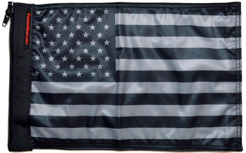 USA Subdued Tactical Flag Forever Wave