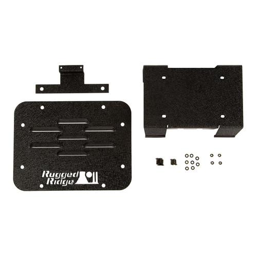 Tire Carrier Delete Plate Kit: 07-18 Jeep Wrangler JK
