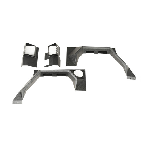 XHD Armor Fender Kit, Rear, Pair; 07-18 Jeep Wrangler JK, 2 Door