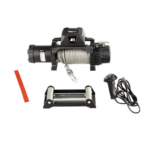 Trekker Winch, 10,000 LBS, Cable, IP68 Waterproof, Wired Remote