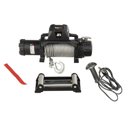 Trekker Winch, 12,500 LBS, Cable, IP68 Waterproof, Wired Remote