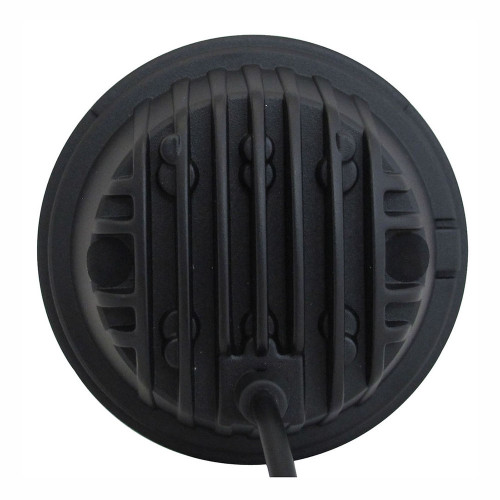 4.5 Inch 30 Watt Fog Light Black Reflector Tempest Series Quake LED