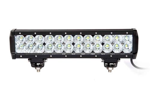 13.5 Inch LED Light Bar Dual Row 72 Watt Combo Ultra II Series Quake LED