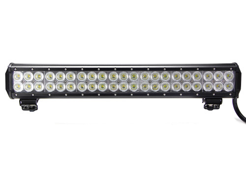 20 Inch LED Light Bar Dual Row 126 Watt Combo Defcon Series Quake LED