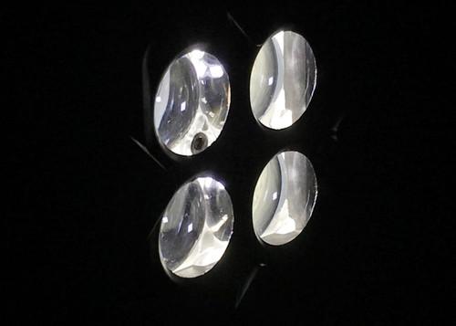 3 Inch Work Light Flush 40 Watt Spot Seismic Series Quake LED