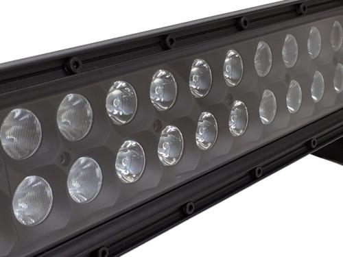 50 Inch LED Light Bar Dual Row 300 Watt Combo Blackout Series Quake LED