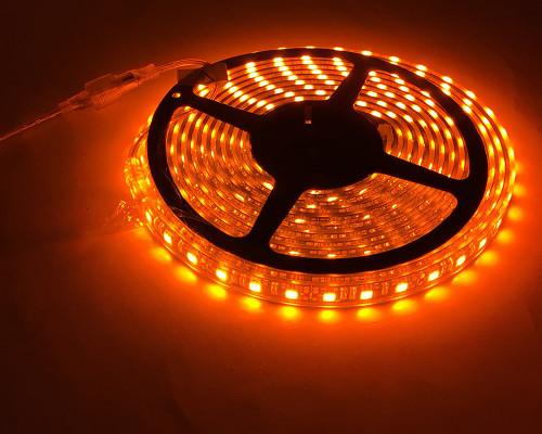 LED Light Strip 16 Feet Amber Quake LED