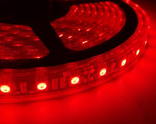 LED Light Strip 16 Feet Red Quake LED